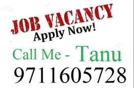 Apply male/female candidates for full time job