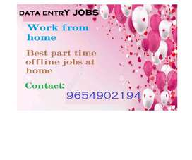 Work from home data entry work