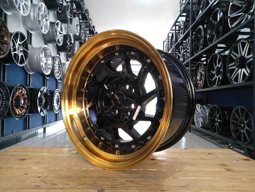 HSR NAMROLE ring16x8/9 pcd8x100/114,3 BK/GOLD 0