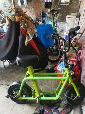Sepeda Listrik Fiido Green Ori Kayak Grab