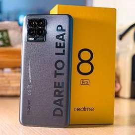 Realme 8 Pro 8/128 New Segel Free Kuota 31,5GB 040