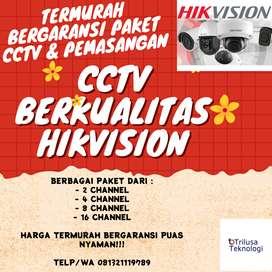 PAKET PEMASANGAN CCTV TERMURAH BANYAK BONUS