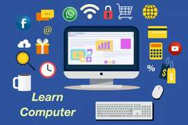 Online 6 month and 3 month computer course with certificate