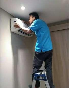 Service AC, pasang AC baru dan second, perbaikan AC