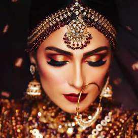 Bridal makeup, skincare and haircare in our parlour