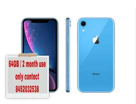 2 month use 64GB Iphone xr with all Accessories