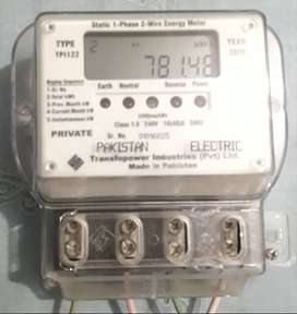Electric SUB METER (1-Phase, 2-Wire Energy Meter – Model: TPI12)