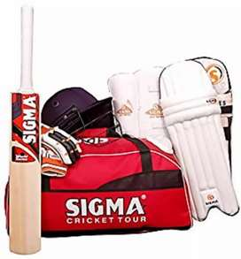Door delivery of brand new Cricket Kit by professional delivery expert