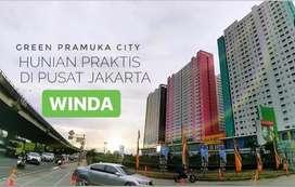 Di JUAL Super MURAH!!!Unit Baru View Timur Green Pramuka Jakarta Pusat