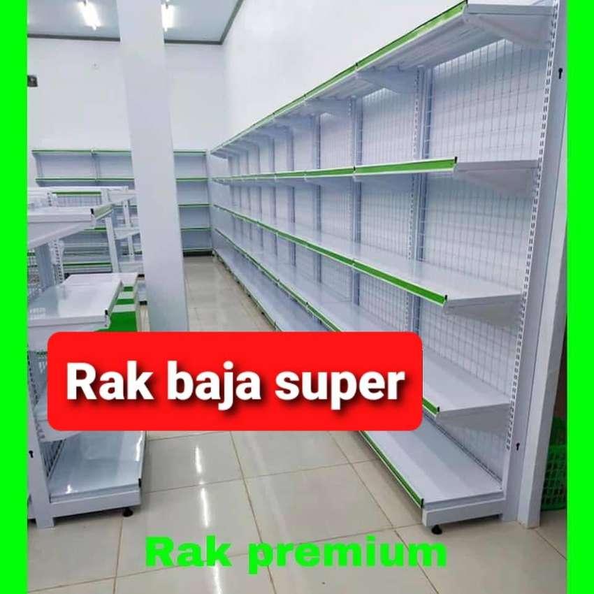 Jual rak Supermarket gondola toko minimarket Balikpapan 0