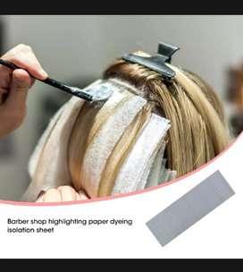 Kertas untuk bleaching rambut