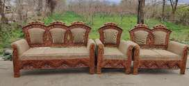 6 seater sofa with Antique work