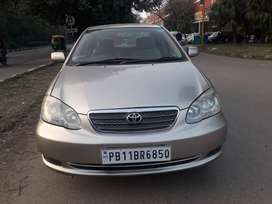 Toyota Corolla 2008 model fully loaded well maintained.