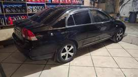 Black Honda Civic 2006 Model for sale.Very good conduction