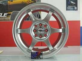 Velg Mobil Kia Rio dll Ring 15 HSR YUZAWA Hyper Silver