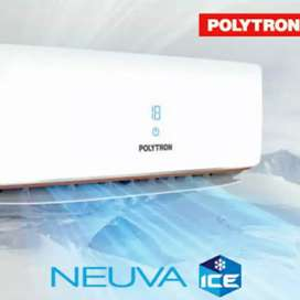 AC Polytron NEUVA ICE PAC 09VX 1PK + Pasang instalasi Garansi Resmi