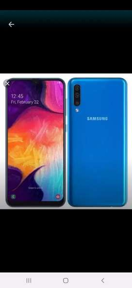 Samsung galaxy A50 10/10 condition full box pta proved no open 10/