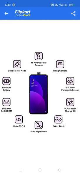 Oppo f11pro good condition 6/64