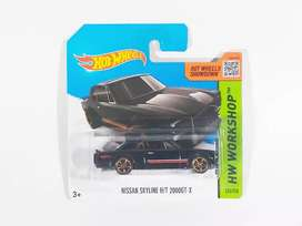 Hot Wheels Nissan Skyline H/T 2000GT-X Short Card (HW Workshop 2014)