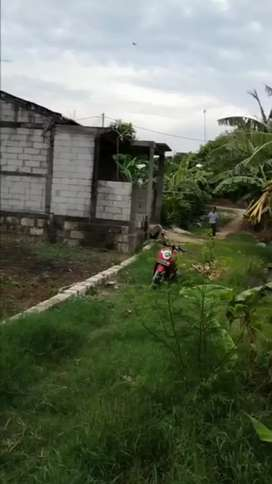 Tanah kavling ukuran jumbo luas 7x21 dekat perumahan padat penduduk