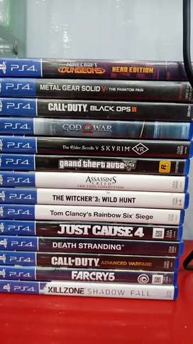 Ps4 used games available Best price only cash