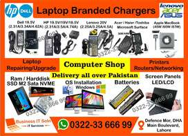 Charger Laptop Repairing LEDs | Computer Shop HP DeLL Apple USB C Type