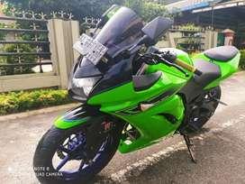 Kawasaki ninja tahun 2012 kondisi sehat dan mulus pajak 2019plat hidup