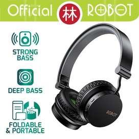 Headphone Bluetooth Robot Spirit H10 Subwofer