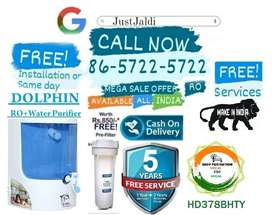HD378BHTY WATER PURIFIER AC DTH WATER FILTER RO .  FREE PRE FILTER AND