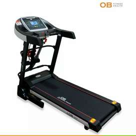Promo Cicilan TANPA DP OB 1039 Al Electric Treadmill multifunction