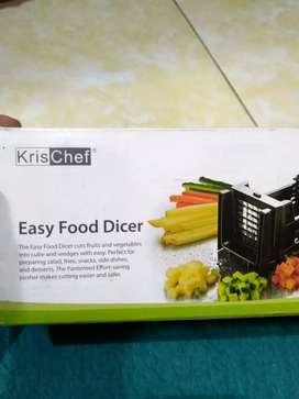 Food Dicer atau Pemotong makanan dan sayuran