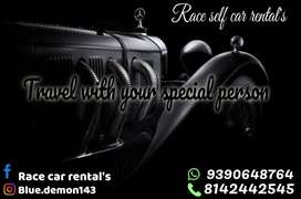 Race self car rental's