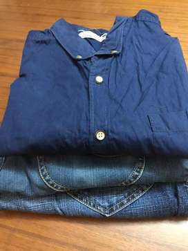 Lee Jeans and Shirt