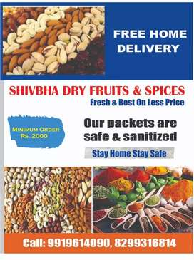 Shivbha dry fruits and spices (free Home delivery)