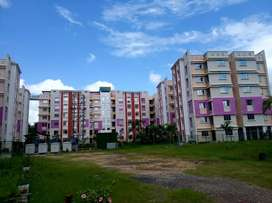 Lake facing 2 BHK flat in residencial complex on Jessore road