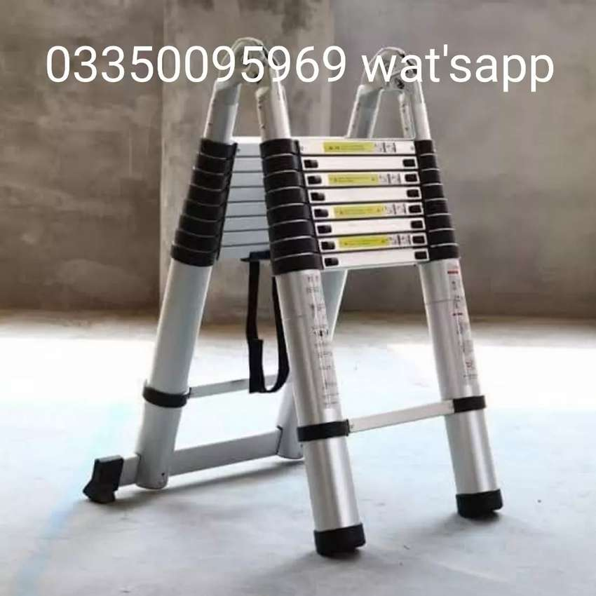 Flexible Aluminium ladders 10 feet double cash on delivery 0