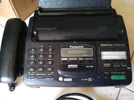 Mesin fax+telpon panasonic kx f780