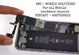 For iPhone and Android repairs and service @affordabl price contact us