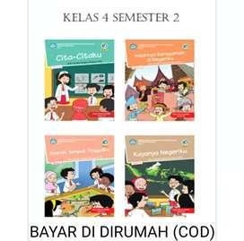 Buku tematik kelas 4 SD/Mi Semester 2