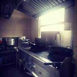 Sedang mencari kerja sebagai koki/cook
