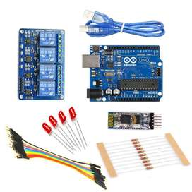 Arduino Home Automation Kit using Bluetooth