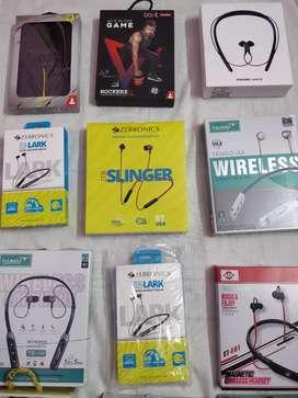 Branded Bluetooth wireless neckbands OnePlus buds / level u2