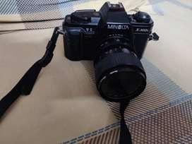 Minolta Film Camera X300s, with 35-70 Minolta zoom lens