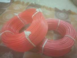 6 sq mm wire 90 metre packed roll standard light company red colour