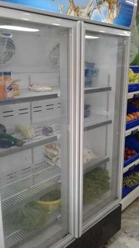 Haire 710 double door fridge