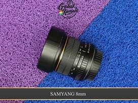 Lensa Samyang 8mm CS I for canon