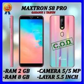 Hp Murah dibawah sejuta Maxtron S8 Pro ram 1/8 gn