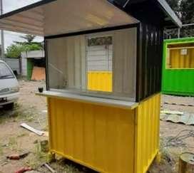 Cicilan booth semi container cuma DP 650rb lgsg kirim sisanya cicilan