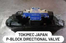 Injection molding machine hydraulic directional valve, hydraluic oil
