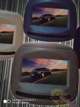 Tv headrest lancer